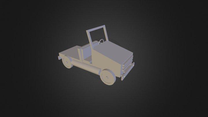 Carrinho 3D Model