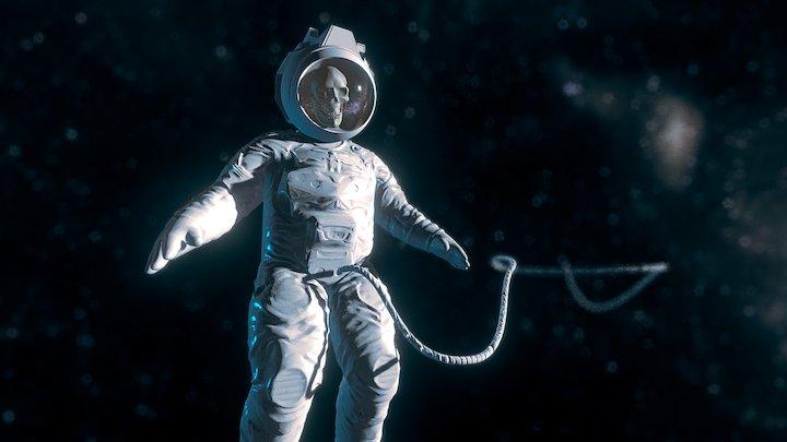 drifting Astronaut 3D Model