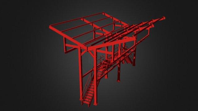 PT - Descargadero 3d V1 3D Model