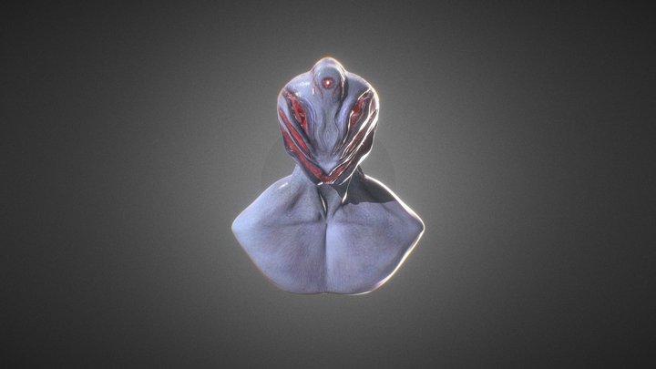 Abyss Lurker (Alien) 3D Model