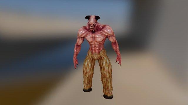 Baron Fireball 3D Model