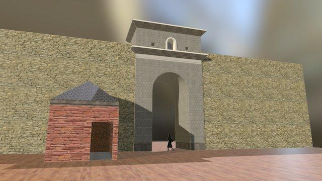 La porte Valois / Villeverte - Aix en Provence 3D Model