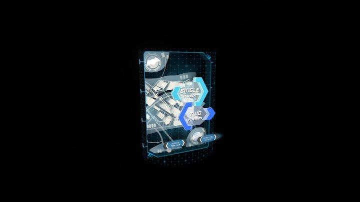 Batman v Superman Cereal Game 3D Model