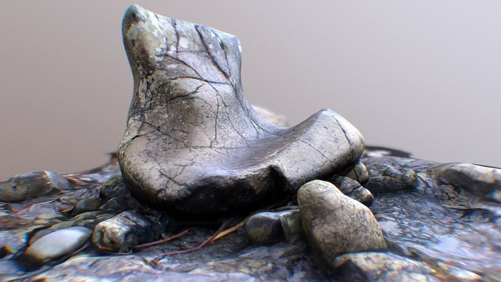 The Giant's Boot 3D Model
