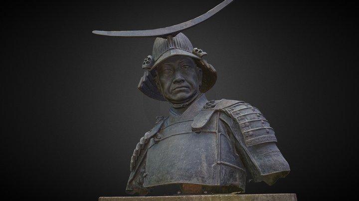 Date Masamune 3D Model