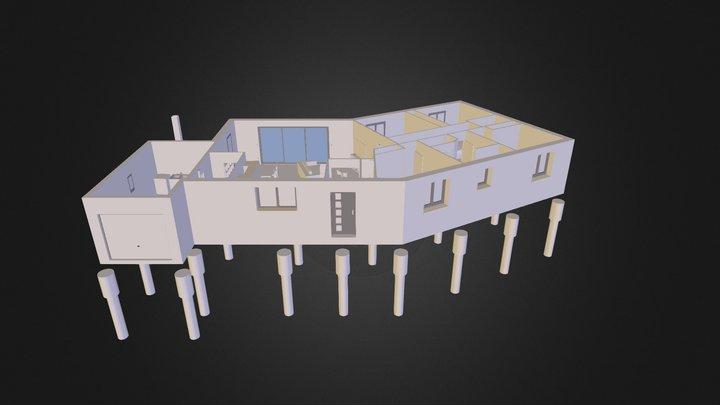 Maison-V-4 3D Model