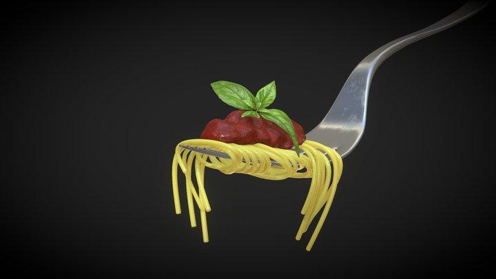 The fork 3D Model
