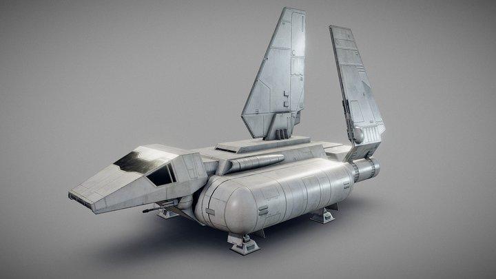 Star Wars - Sentinel-class shuttle 3D Model