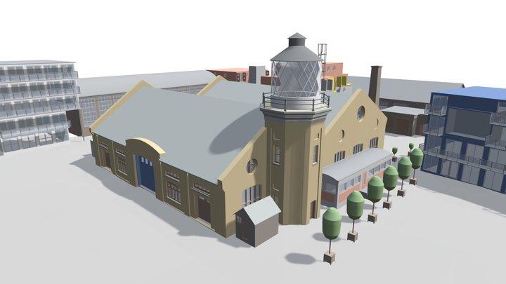 Trinity Buoy Wharf - 3D Building Model (E,C) 3D Model