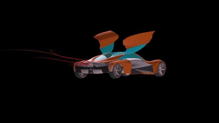 Pagani Inspired V2.0 3D Model