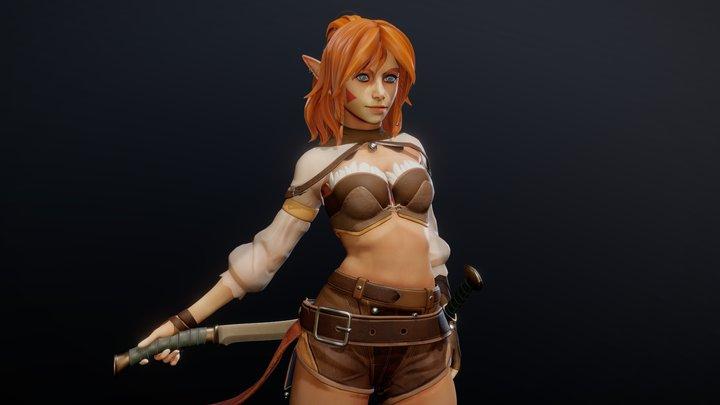 Eryn the firefly 3D Model