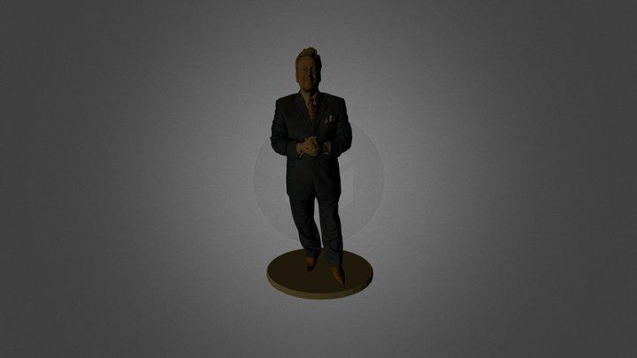 Standing Man 3D Model