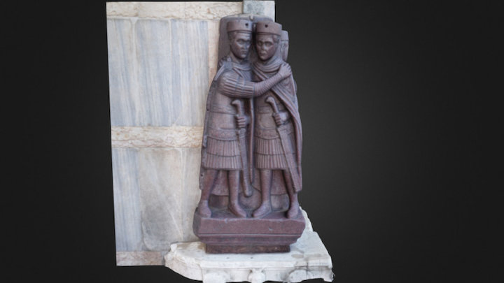 Portrait of the Four Tetrarchs 3D Model