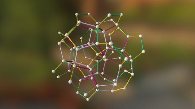 Vertex-first-120-cell-core 3D Model