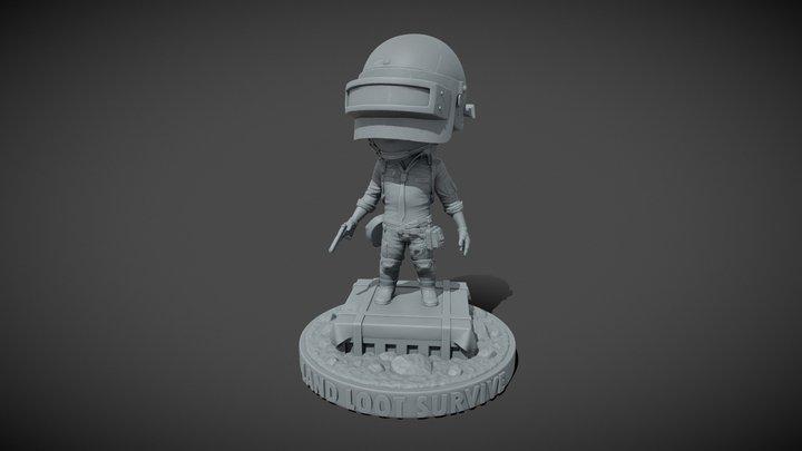 PUBG Bobblehead 3D Model