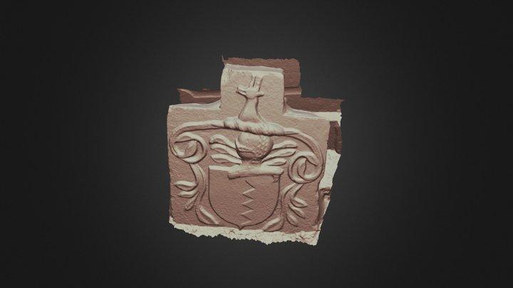 St Conans Crest 3D Model