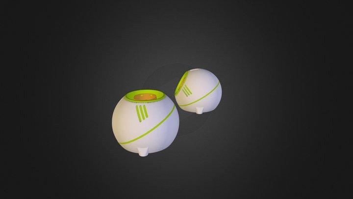 K-squareb Angle 3D Model