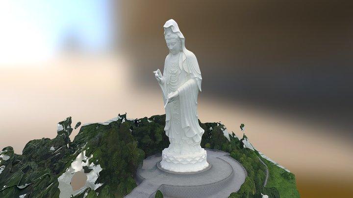 Guan Yin Statue (Standard Quality) 3D Model