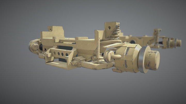 Millitary Suspention 3D Model