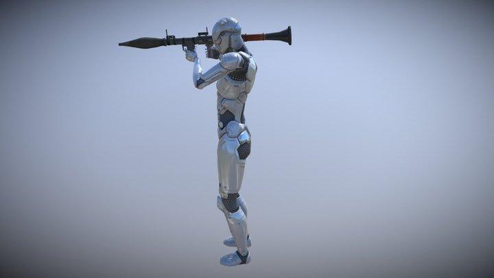 RPG / Big Gun Plus : Mocap Animations Pack 3D Model