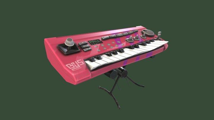 Keyboard from Psychonauts - ITROR 3D Model