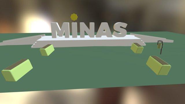 Zip Minas 3D Model