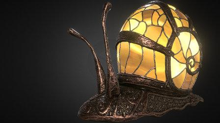 SnaiLamp 3D Model