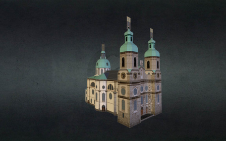 ST-JACOBS-CATHEDRAL 3D Model