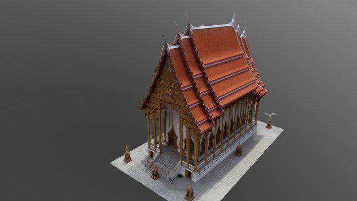 saladang_full_129pcs_gcp_simplified_3d_mesh 3D Model