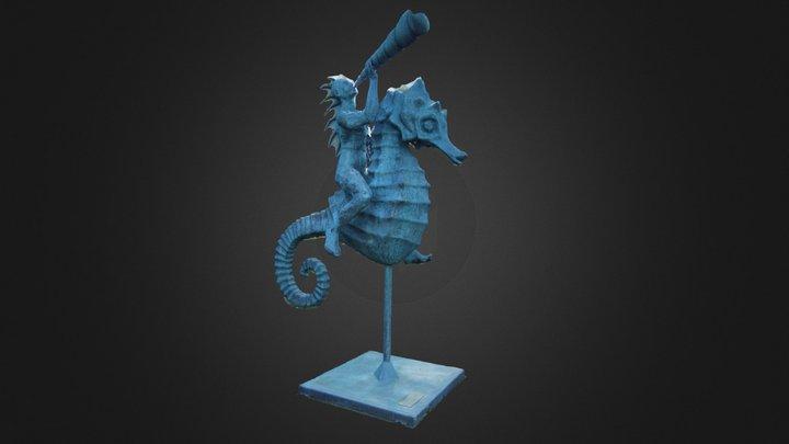 Seahorse   Marine Life 3D Model