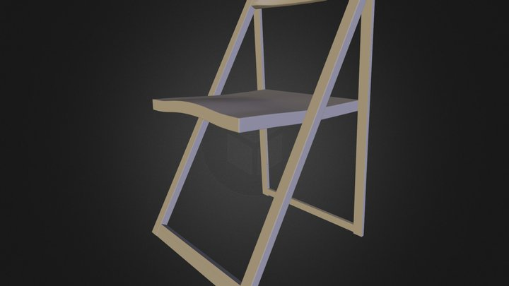 Free 3d model: Skip Folding Chair by Calligaris 3D Model
