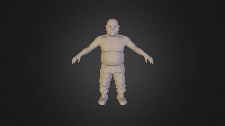 Zwerg 3D Model