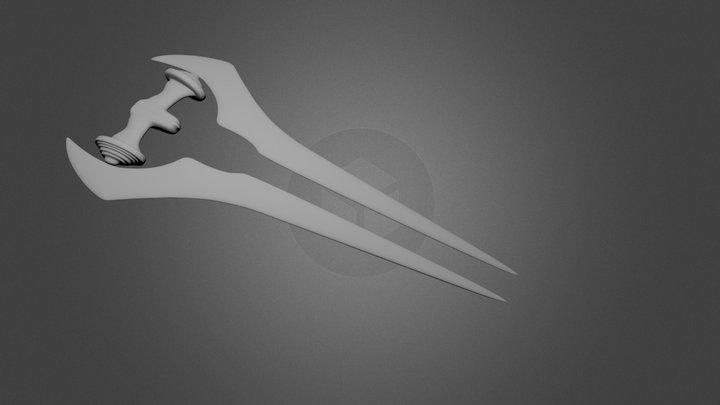 halo sword 3D Model
