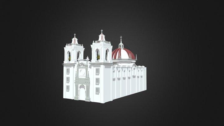 Basílica de Nuestra Señora de Gpe (Villita) 3D Model