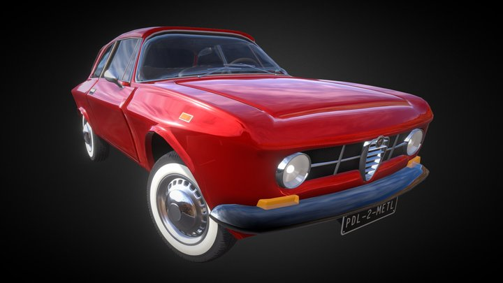 Alpha Romeo GT1300 Junior 3D Model