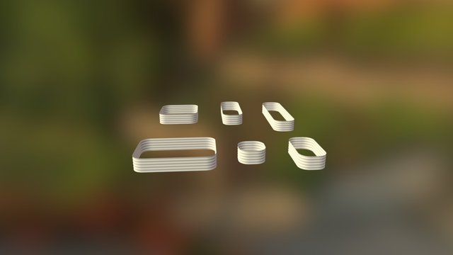 6 in 1 Small Original Veggie Bed 3D Model