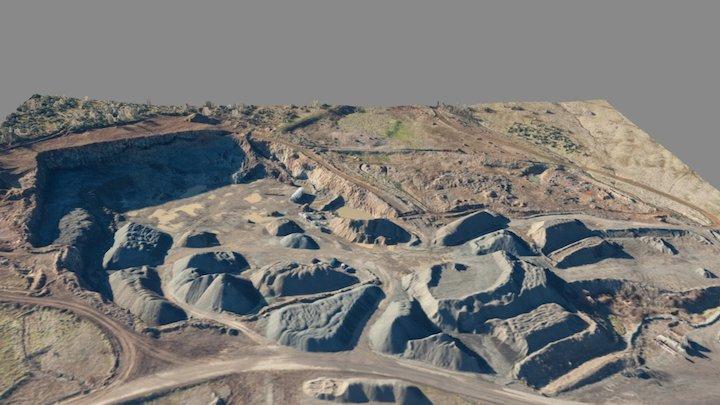 Dry Creek Pit - January 2017 3D Model