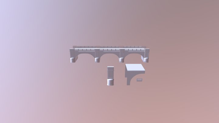 Bridge Project 3D Model