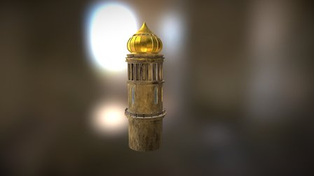 Tower Palace 3D Model