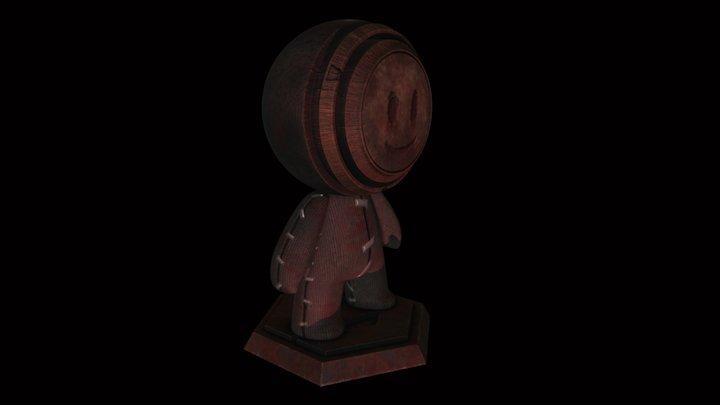 Meet MAT - Creepy doll 3D Model