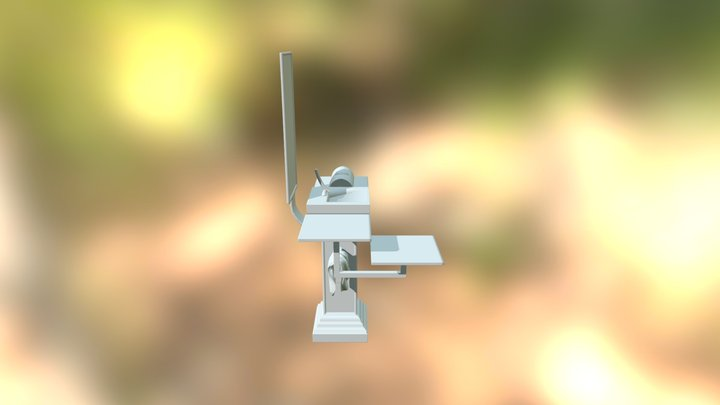 Eon Column 3D Model