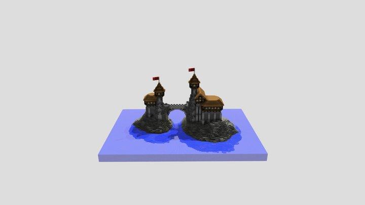 medieval-castle 3D Model