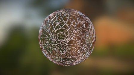 Lattice Ball 3D Model