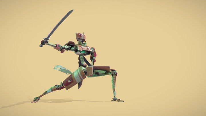 Robot Samurai | サムライロボット | 3D Model