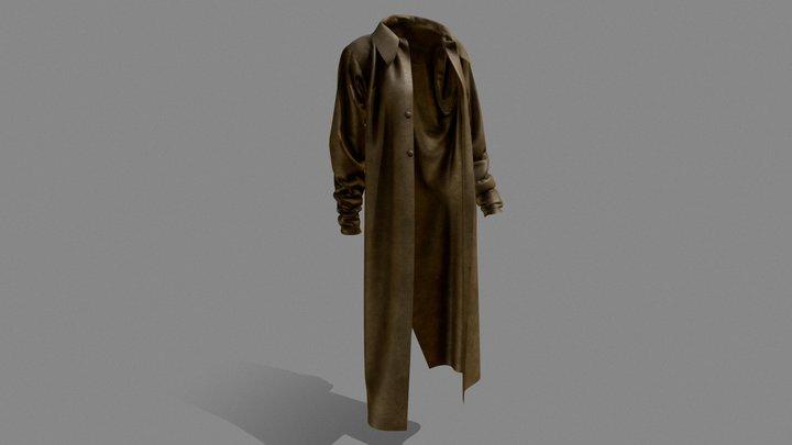 #3December-Coat #1 Milo James Thatch 3D Model