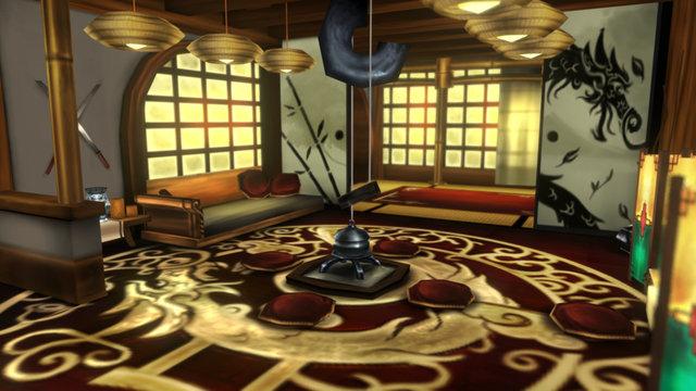 Oriental House 3 - Handpainted 3D Model