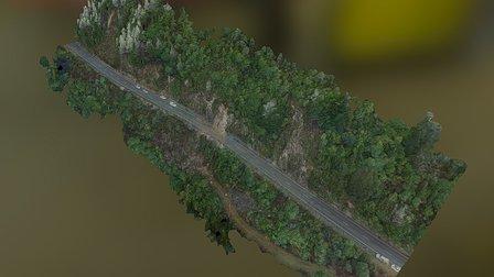 Gowan Narrows Simplified 3d Mesh 3D Model