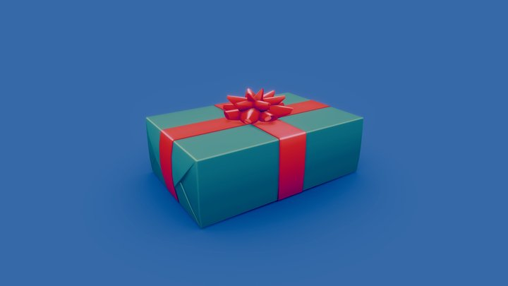 Gift - 3December 3D Model