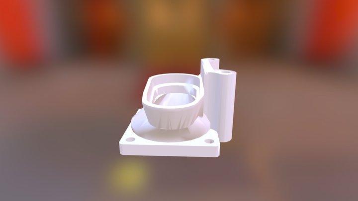 Supercharger Inlet 2 0 3D Model