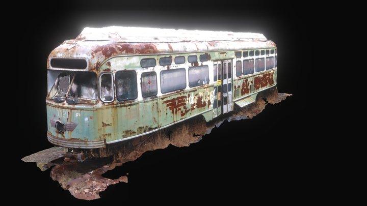 Abandoned Trolley 3D Model